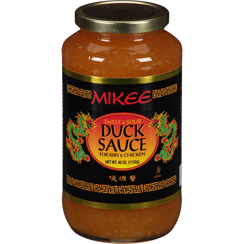 Mikee Sweet & Sour Duck Sauce, 40 oz, (Pack of 12)