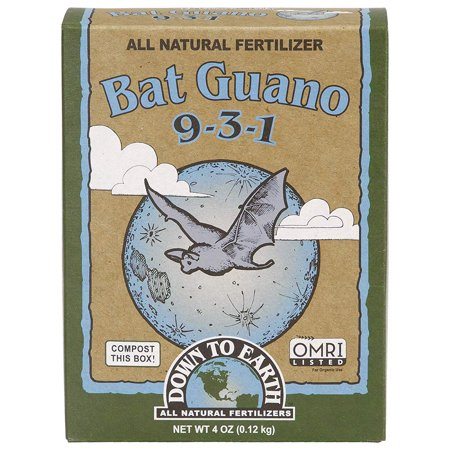 Jamaican Bat Guano - down to earth bat guano 9-3-1 mini omri 0.25lb 100523956