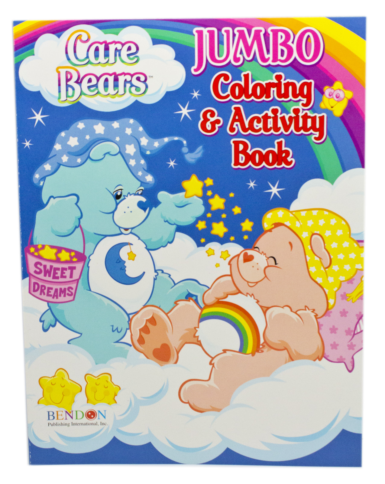 - Care Bears Sweet Dreams On Pillow Clouds Blue Cover Coloring & Activity Book  - Walmart.com - Walmart.com