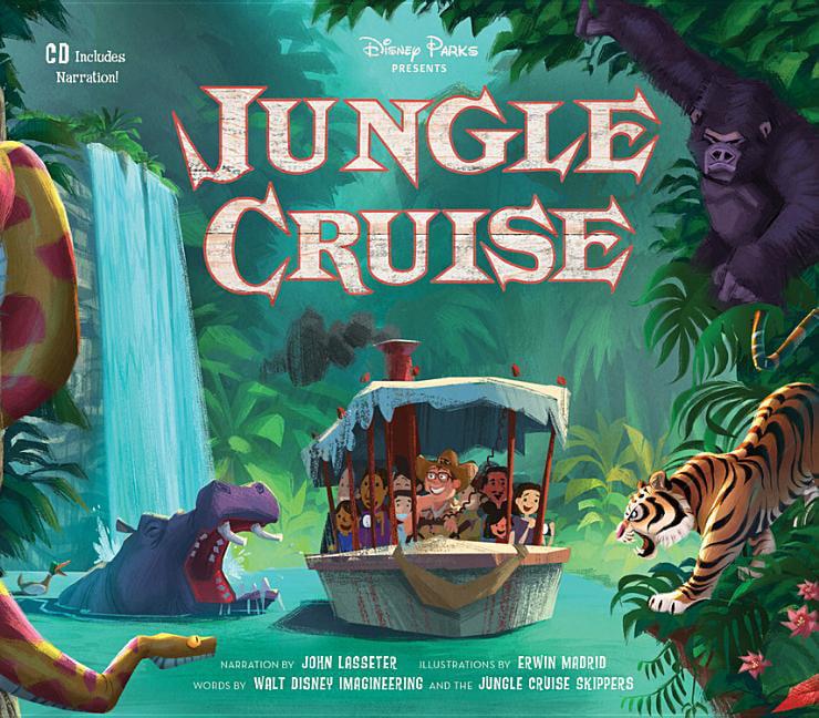 Disney Parks Presents Jungle Cruise Purchase Includes A Cd With Narration Walmart Com Walmart Com