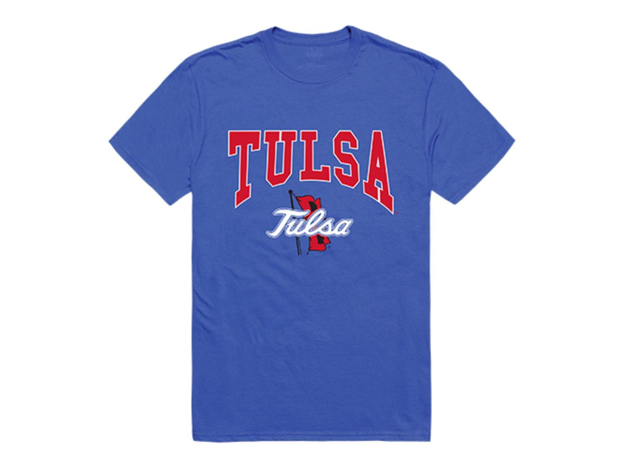 W Republic University Of Tulsa Golden Hurricane Athletic T Shirt Royal Walmart Com Walmart Com
