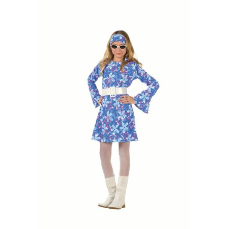 70S Fever Child Costume (60's And 70's Fancy Dress Costumes)