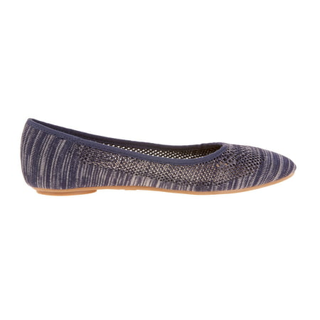 (Time and Tru Women's Mesh Sport Ballet Flat)