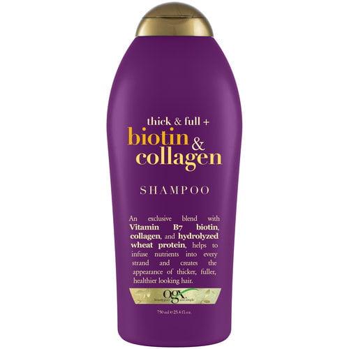 Ogx Thick & Full + Biotin & Collagen Shampoo, 25.4 fl oz by OGX