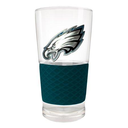 Philadelphia Eagles 22oz. Pilsner Glass with Silicone Grip - No Size Grip Team Green