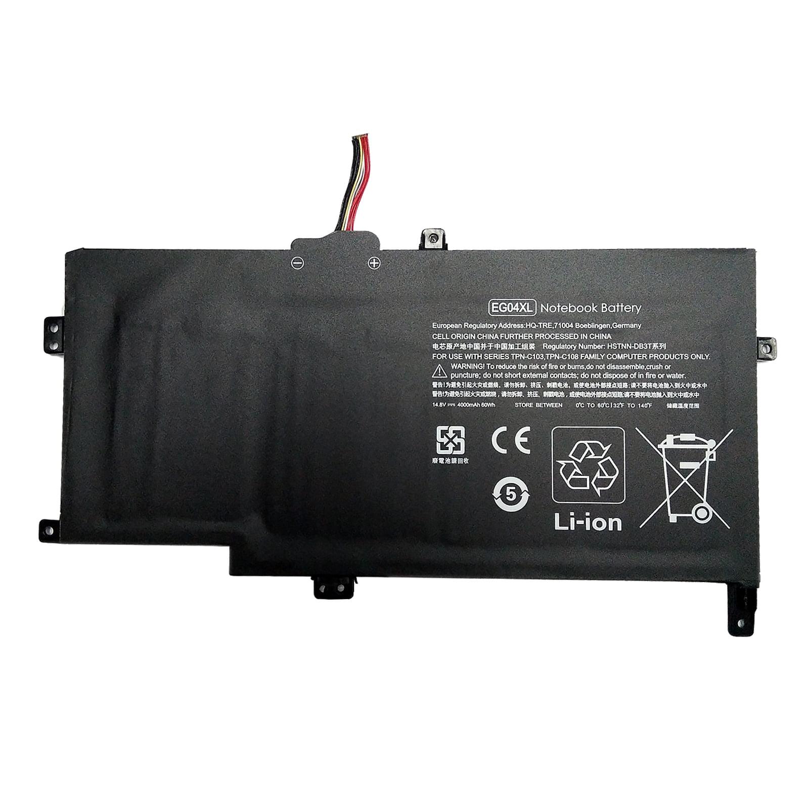 Superb Choice® Battery for HP HSTNN-IB3T HSTNN-DB3T EG04XL TPN-C103 TPN-C108 - image 1 of 1