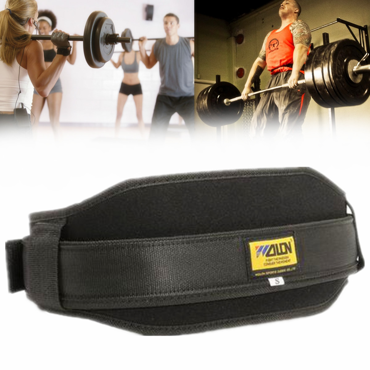 Workout Weight Lifting Belt for Men and Women – Lightweight for Comfortable Back Support - Ideal for Squat, Powerlifting, Deadlift Training