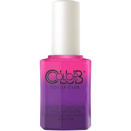 Color Club Warm To Cool Color Changing Nail Lacquer Bellyflop 0 5