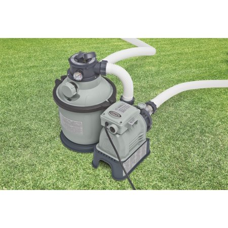 Intex Krystal Klear Sand Filter Pump for Swimming Pools, 1,200 GPH - Pool City Cranberry