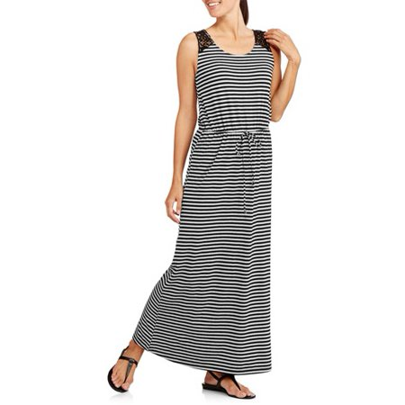 bdb065c9f9b Faded Glory - Maxi Dress - Walmart.com
