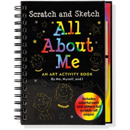 Scratch & Sketch All about Me : An Art Activity Book by Me, Myself, and I](Halloween Art Activities For 5th Class)