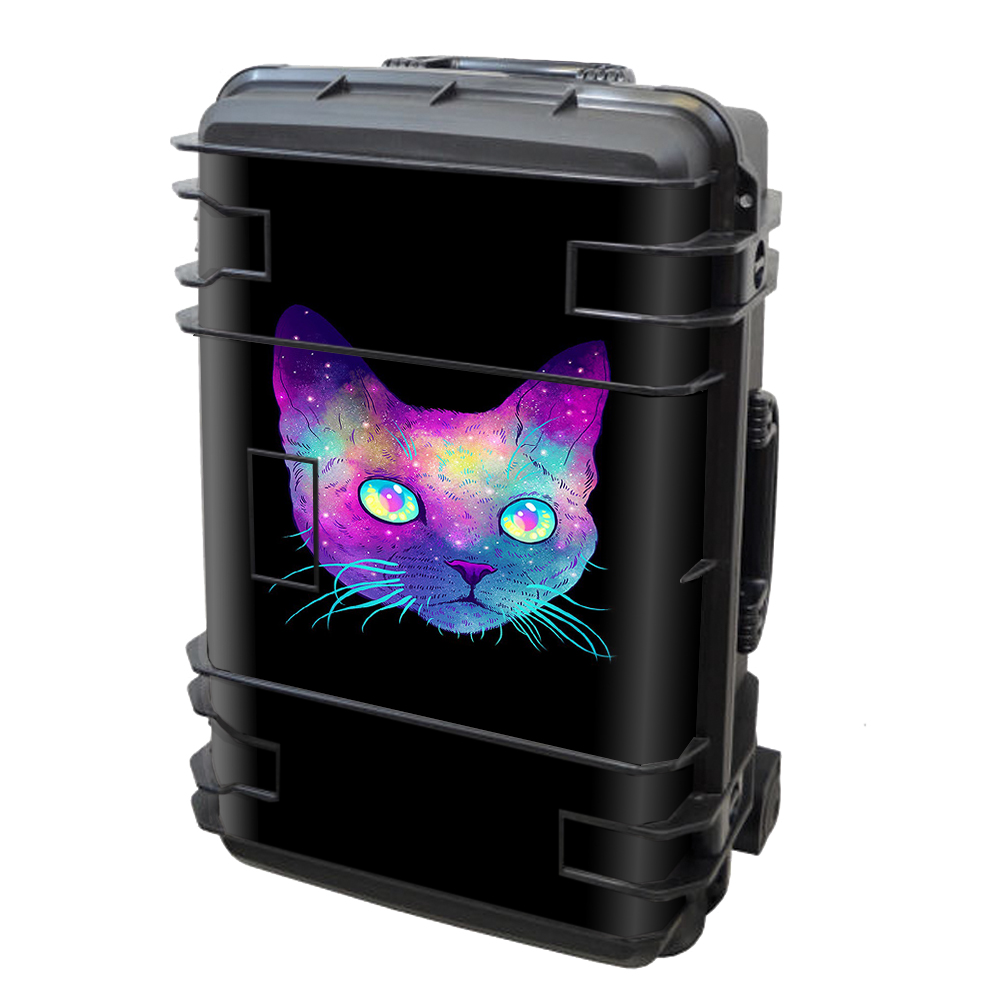 Skin Decal Vinyl Wrap for Seahorse SE-920 Case stickers skins cover/ Colorful Galaxy Space Cat