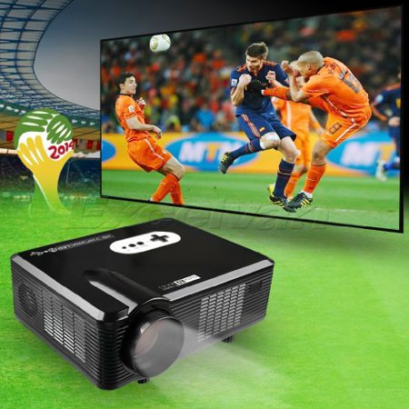 CL720 3000 lumen HD Home Theater Multimedia LCD Projector HDMI/Analog TV/VGA/ AV (Black)