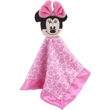 Disney Minnie Mouse Lovey Baby Security Blanket