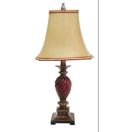 Table Lamp 26 Quot Square Bell Shade Walmart Com