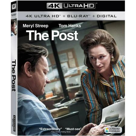 The Post  4K Ultra Hd   Blu Ray   Digital