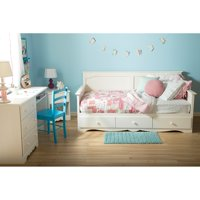 "South Shore Summer Breeze Twin Daybed with Storage (39""), Multiple Finishes"