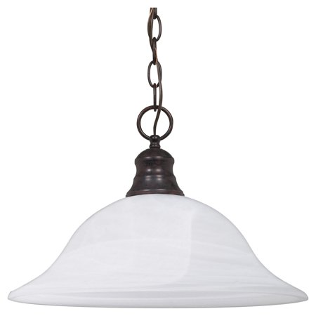 Glass Pendant Light Fixture - Nuvo Lighting 60391 - 1 Light (Medium Screw Base) 16