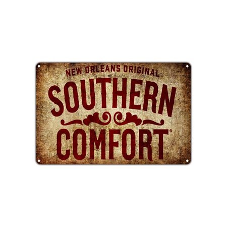 New Orleans Shopping (New Orleans Original Southern Comfort Vintage Retro Metal Wall Decor Art Shop Man Cave Bar Garage Aluminum 8