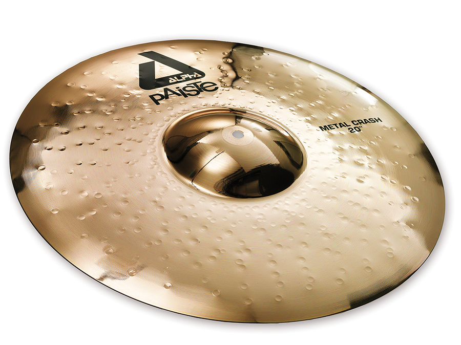 Paiste Alpha Metal Crash Cymbal with Brilliant Finish 17 inch by Paiste