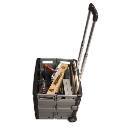 Austin Supply Roller Crates Wheeled Collapsible Storage - Craft Stores Austin