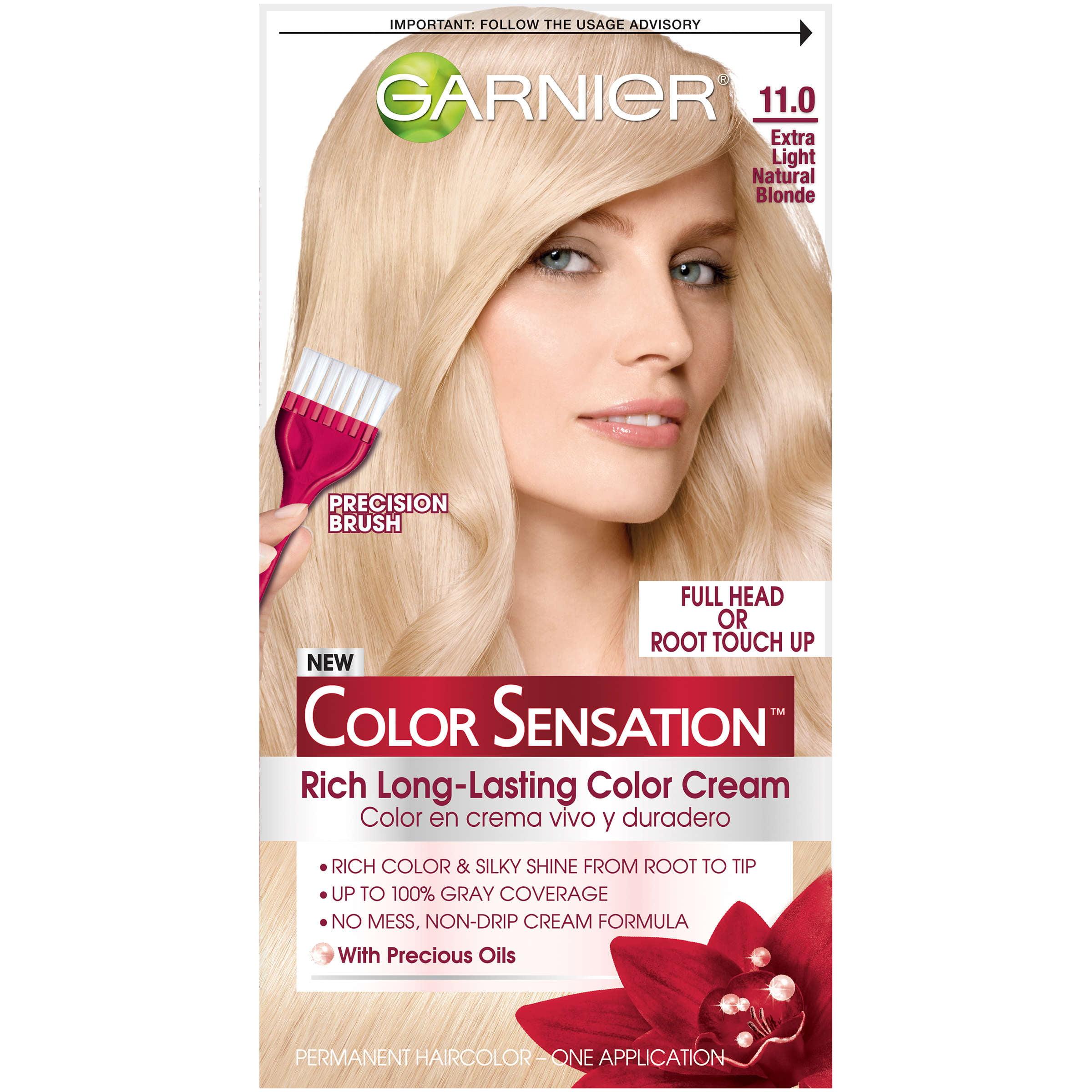 Garnier Color Sensation Rich Long Lasting Color Cream Extra Light