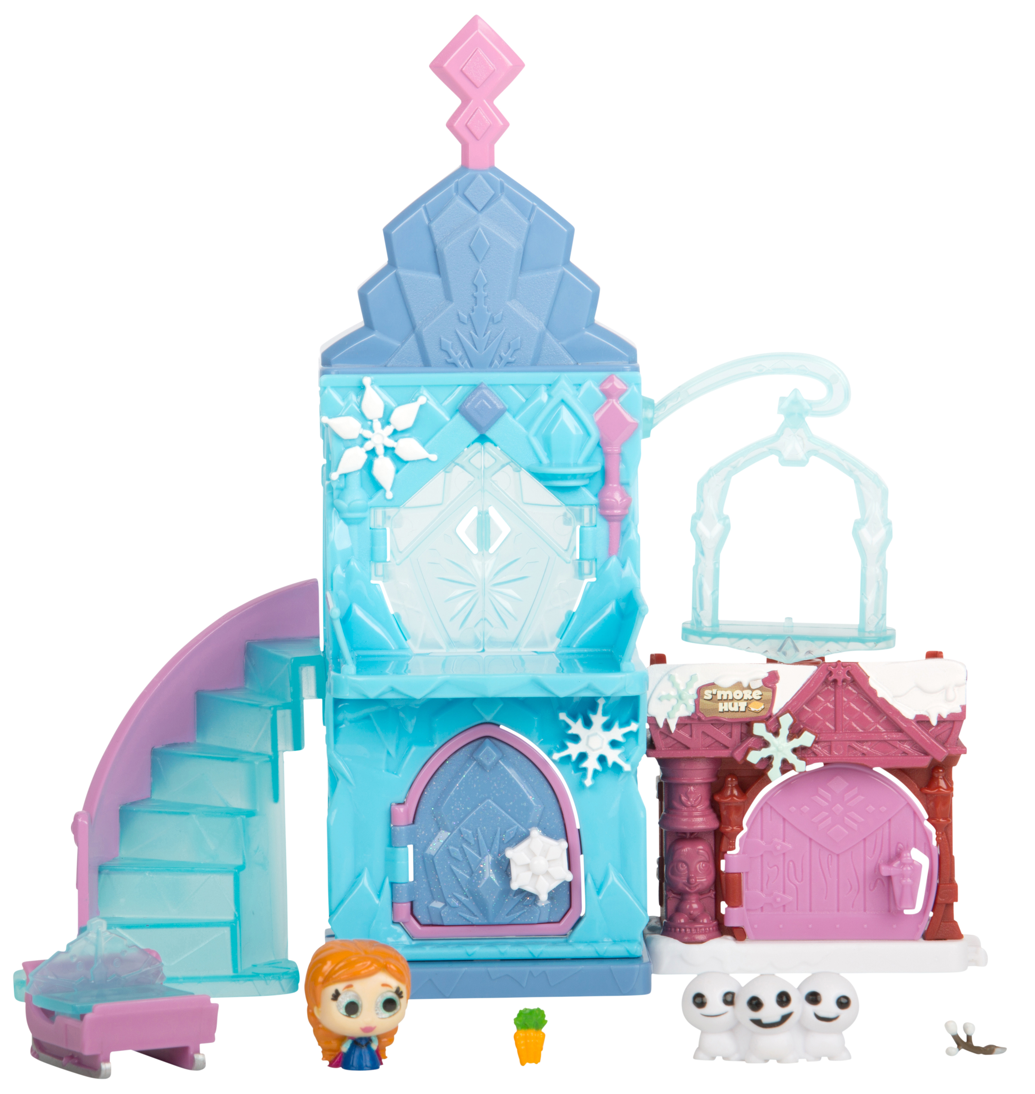 Disney Doorables Mini Collectible Figures Multi Stack Playset, Frozen