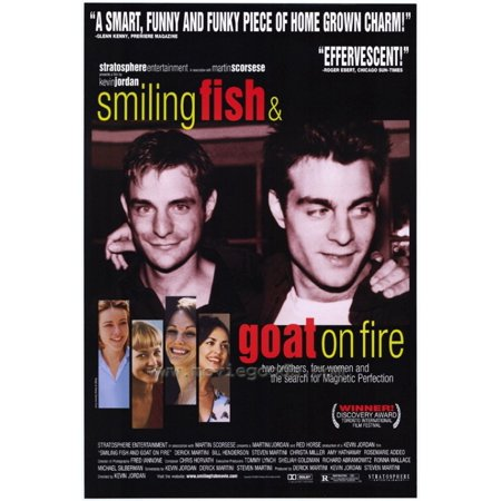 Smiling Fish & Goat on Fire Movie Poster (11 x 17)