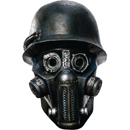 Sucker Punch Deluxe Gas Mask Zombie Overhead Latex Adult Costume Mask](Halloween Healthy Punch)