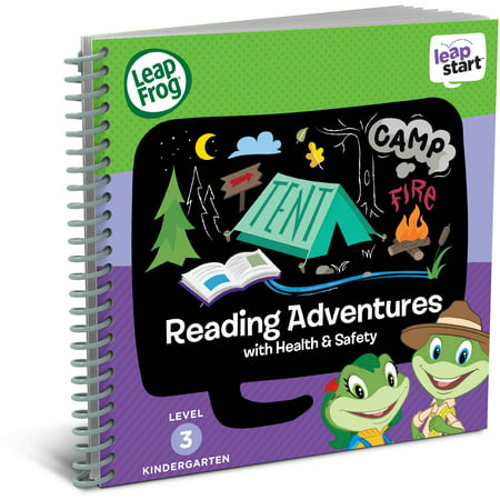 LeapFrog LeapStart Kindergarten Activity Book: Reading Adventures and Health & - Halloween Reading Activities Fourth Grade