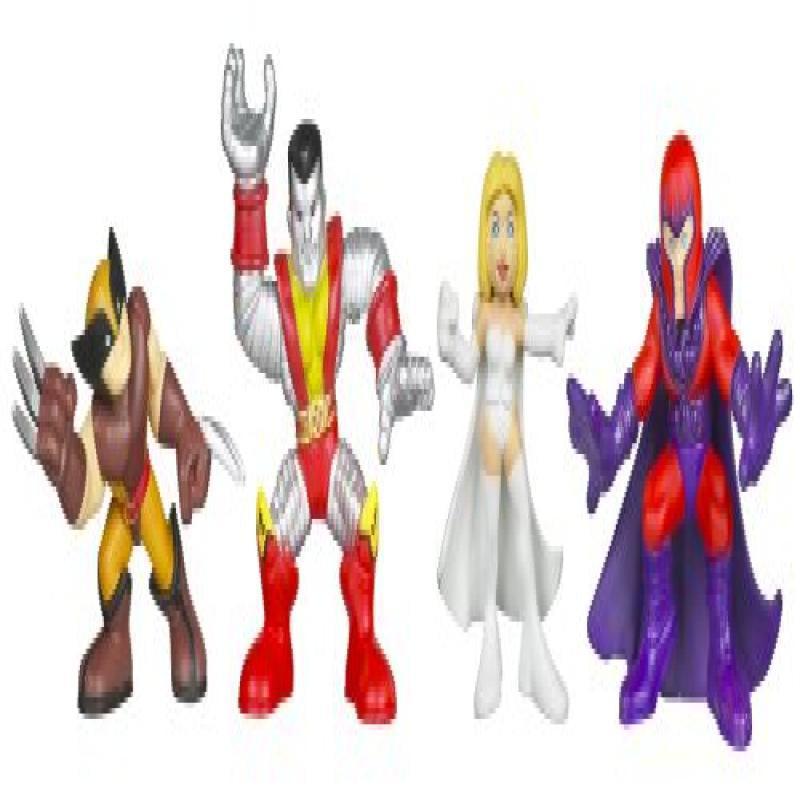 Hasbro Marvel Super Hero Squad X-Men Action Figure 4-Pack