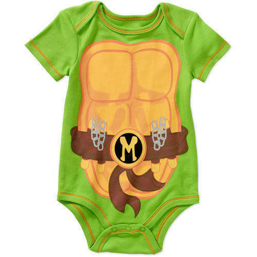 Teenage Mutant Ninja Turtles Newborn Baby Boy Bodysuit
