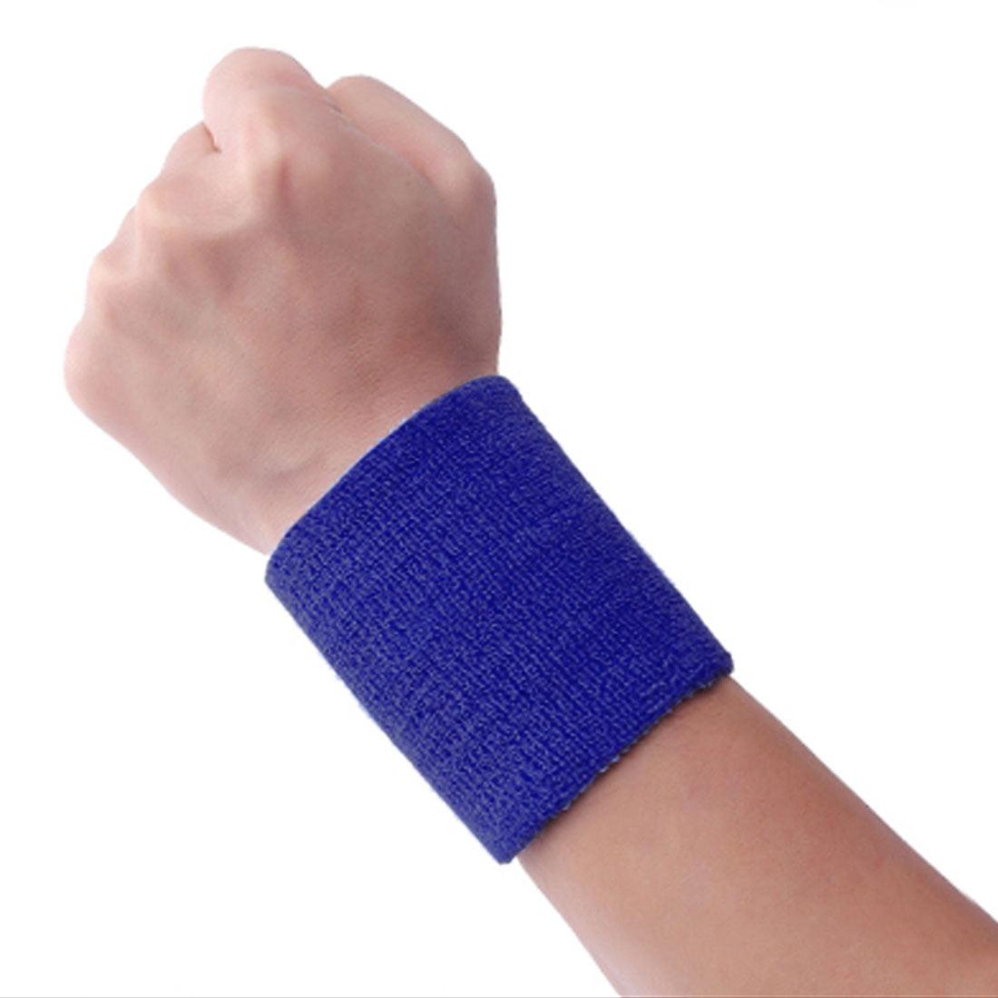 Sport Exercise Sweatband Wristband Bandage Wrap Protection