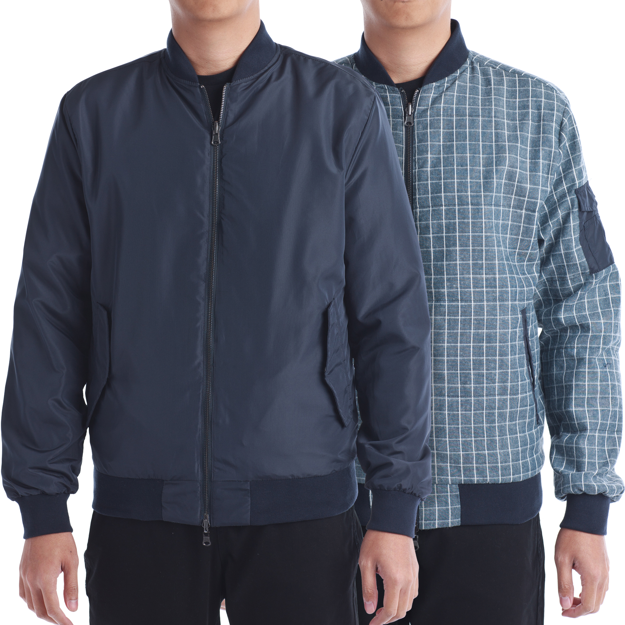 No Retreat Men's Queens Reversible Jacket