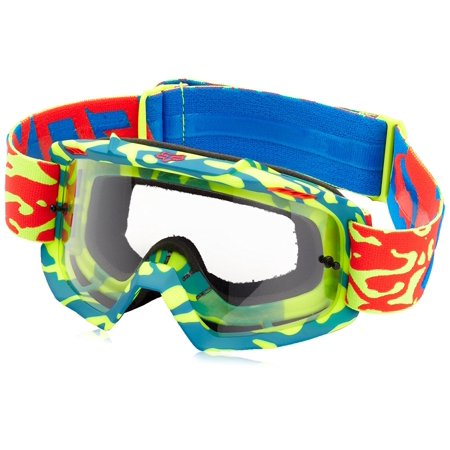 - Youth Air Space Cauz Goggle-Yellow/Red, Smart venting system, venting ports circulate cool air By Fox Racing from USA