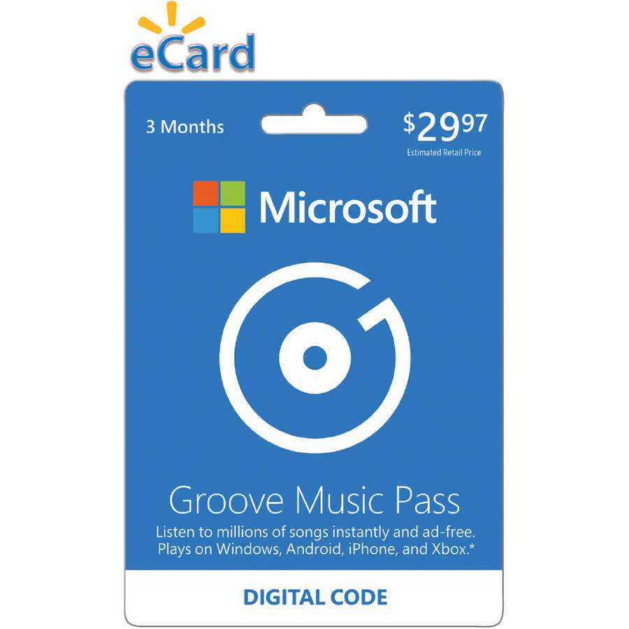 Microsoft Groove Music Pass 3 Month (Email Delivery)