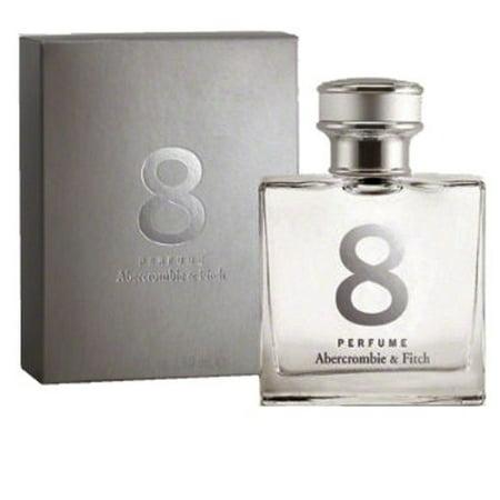 8 Perfume Eau De Parfum 1.7 oz / 50 ml By Abercrombie & Fitch For Women *Sealed* (Abercrombie Perfumes For Women)