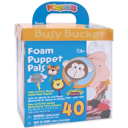 - Foam Kit Makes 40Puppet Pals