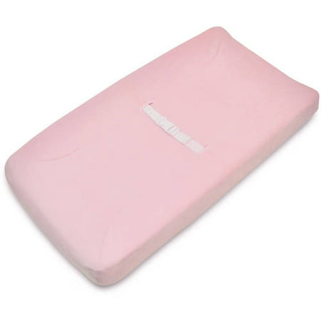 American Baby Company Heavenly Soft Chenille Fitted Contoured Changing Pad Cover, Pink, for (Best Irrigation System For Roses)