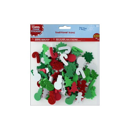 Foamies Foam Stickers: Traditional Christmas - Christmas Photo Stickers