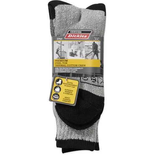 Dickies Men's Thermal Socks, 2 Pack by Thermal Socks