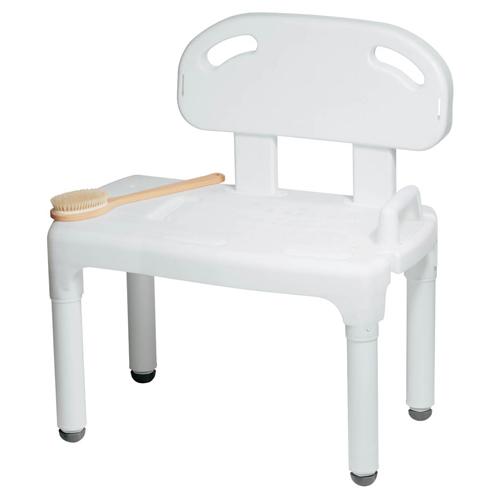 Carex Universal Tub Transfer Bench Bath And Shower Bench Seat Chair Converts To Right Or Left