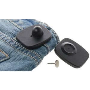 Clothing Security Tags, RF Frequency, Pack of 50, Black By Retail Resource Ship from US