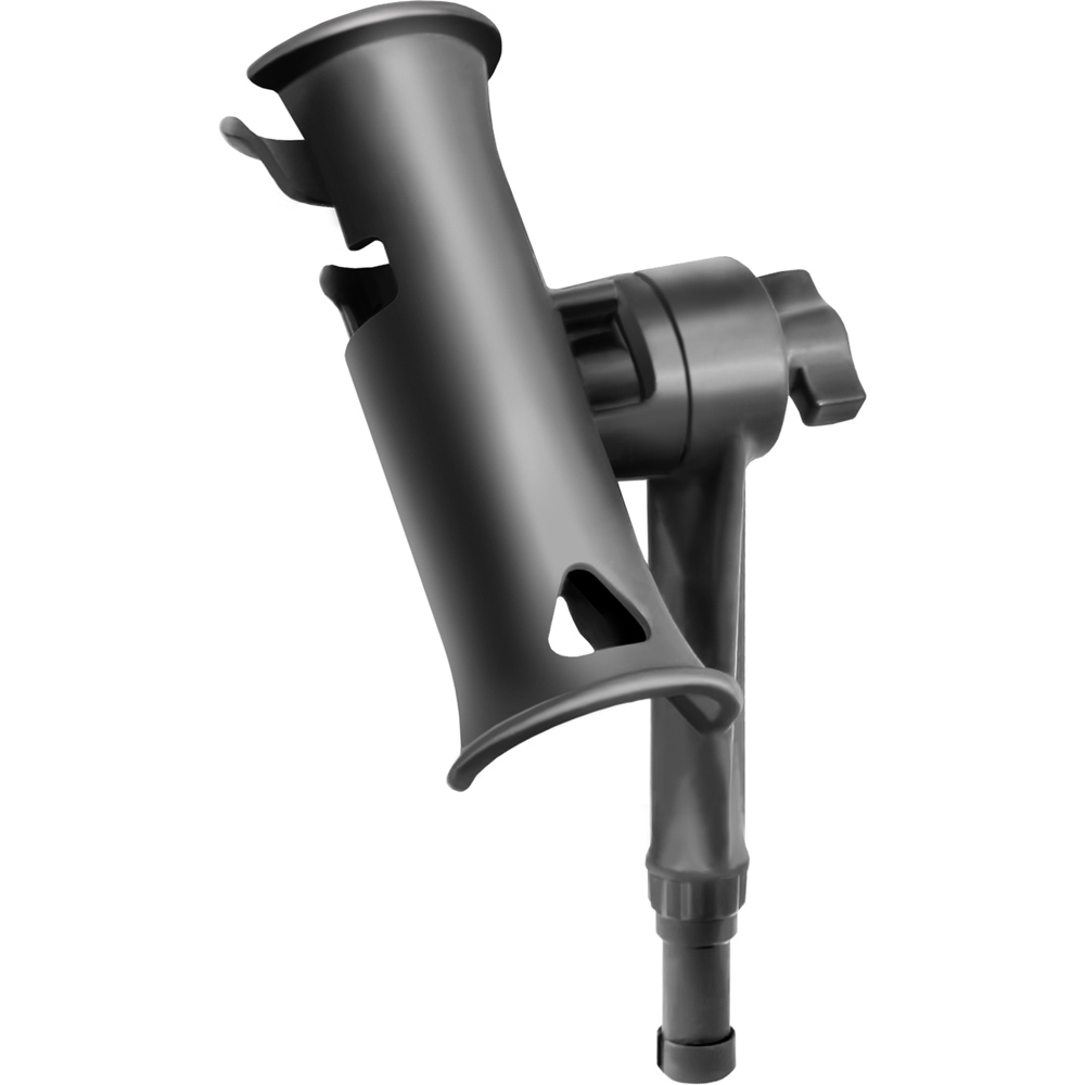 """The Amazing Quality """"RAM Mount Tube Jr. Fishing Rod Holder w Standard 6"""""""" Length Post Spine"""" by"""