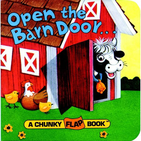 Open the Barn Door, Find a Cow (Board Book) ()