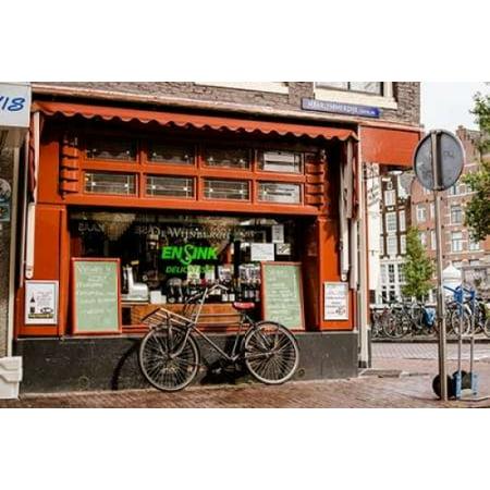 Amsterdam Delicatessen Ii Canvas Art   Erin Berzel  12 X 18