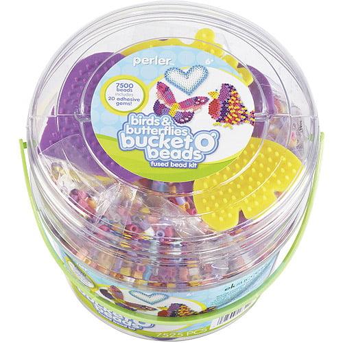 Perler Fun Fusion Fuse Bead Activity Bucket, Birds and Butterflies