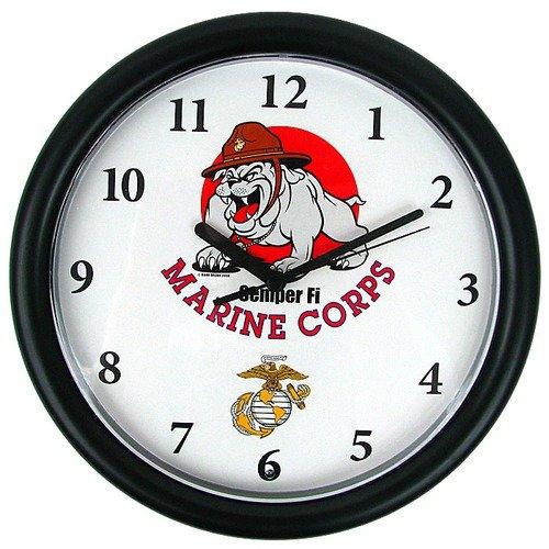 Trademark Global Deluxe Chiming US Marine Wall Clock