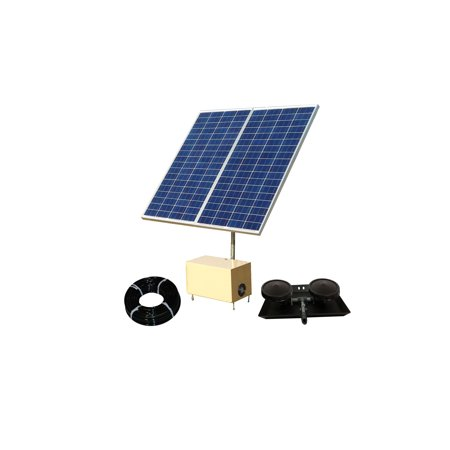 Pond Aeration System - Outdoor Water Solutions Solar AerMaster 2 Direct Drive Pond Aeration System