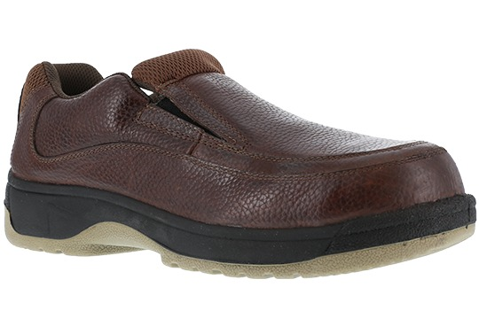 Florsheim Works Men's Lucky Steel Toe Work Slip On Loafers Shoes by Warson Brands
